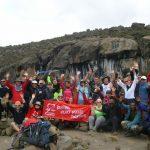 BHF at Barranco Wall - Kili