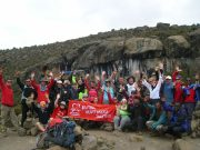 BHF at Barranco Wall - Kili