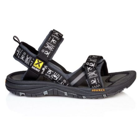 Source Men's Gobi Sandals - black/inca
