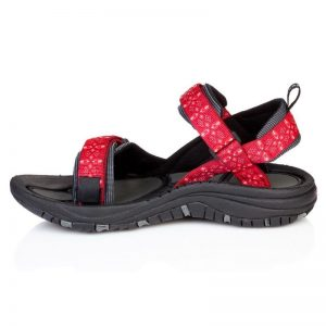 Source Ladies Gobi Sandals - Tribal red