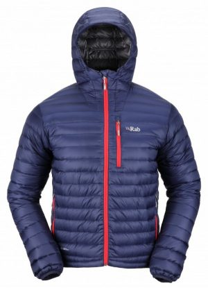 Rab Mens Microlight Alpine Jacket - twilight/shark