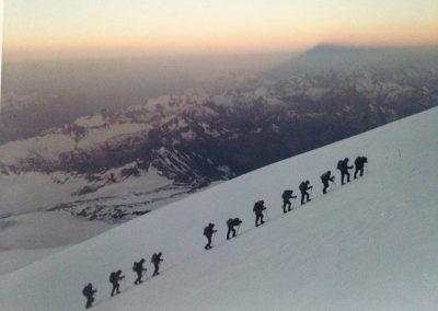 TrekHireUK - Group on Elbrus