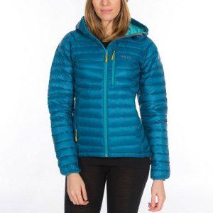 Rab Ladies Microlight Alpine Jacket - blazon