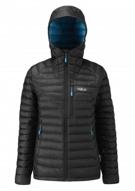 Rab Ladies Microlight Alpine Jacket- black