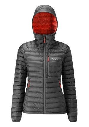 Rab Ladies Microlight Alpine Jacket - Steel/passatta