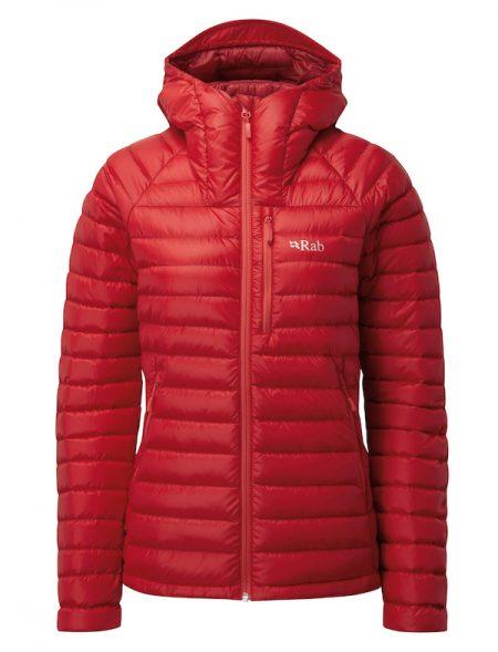 Montane Ladies Microlight Alpine Jacket - Ruby/crimson