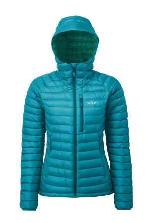 Rab Women's Microlight Alpine Jacket - Serenity/atlantis