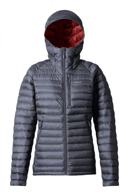Montane Ladies Microlight Alpine Jacket - Steel/passata