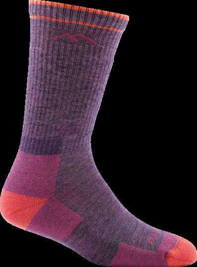 Darn Tough Women's Boot Sock Cushion - Plum Heather