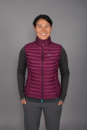 Rab Ladies Microlight Vest - Berry