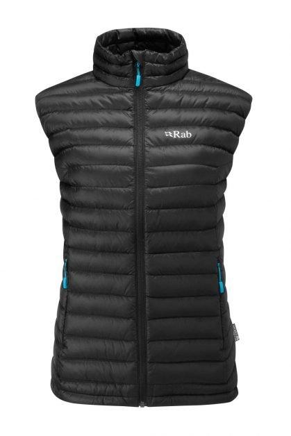 Rab Ladies Microlight Vest - Black/tasman