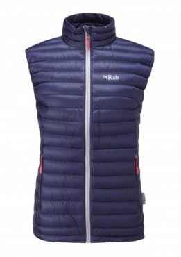 Rab Womens Microlight Vest - twilight