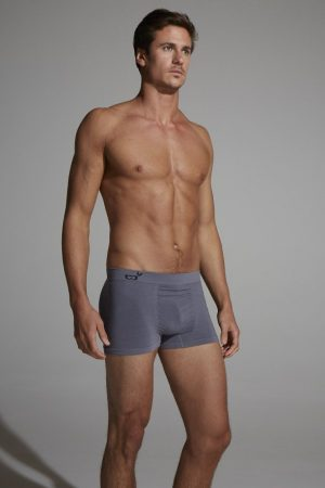 Boody Mens Boxers grey