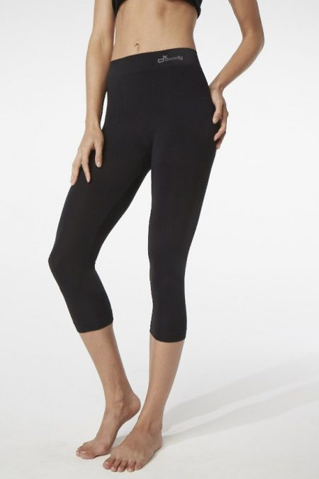 Boody Womens 3/4 Legging black (02)