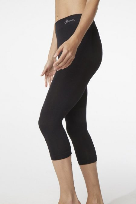 Boody Womens 3/4 Legging black