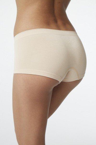 Boody Womens Boy Leg Brief nude