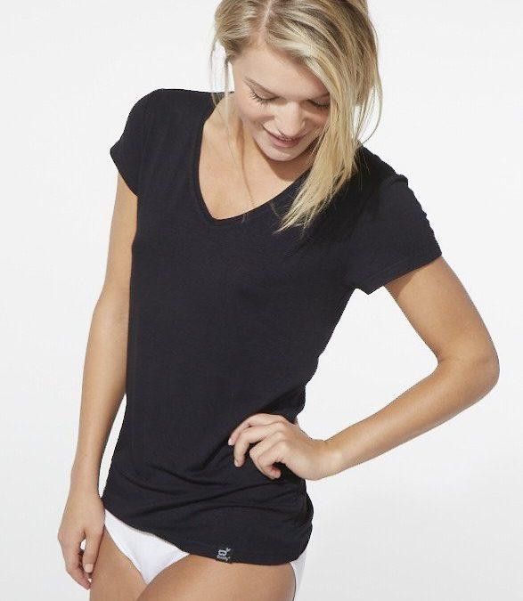 Boody Women's V Neck T-shirt