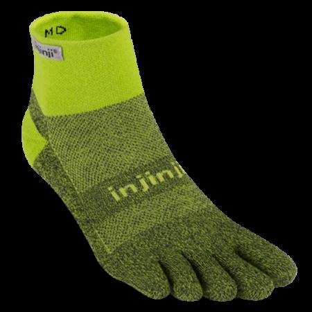 Injinji Trail Mini Crew - Winter Green