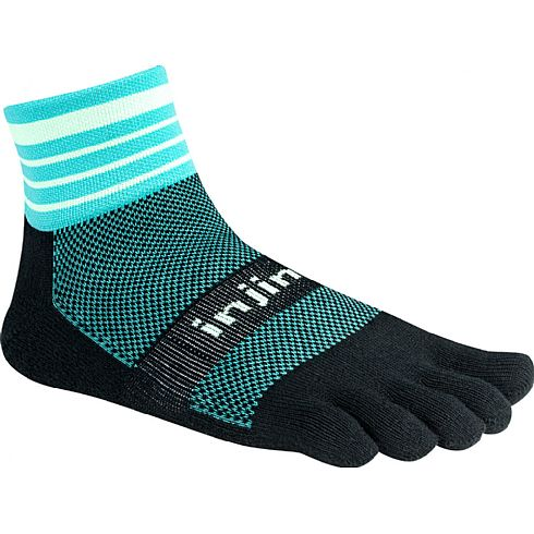 Injinji Trail MW Mini Crew - Dark mint