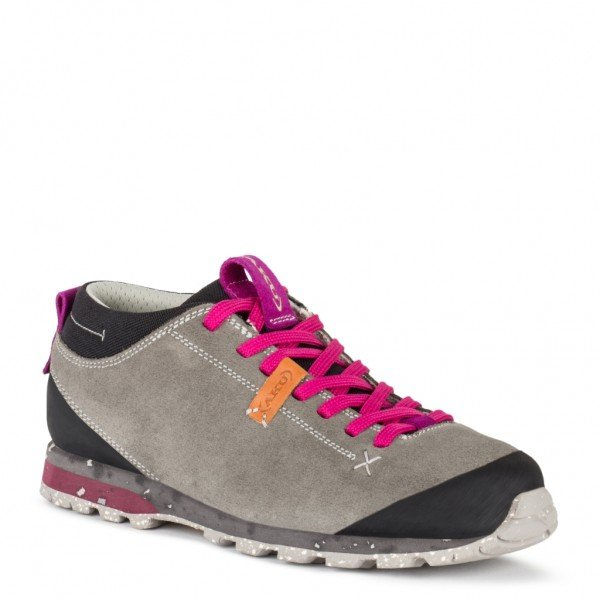 AKU Women's Bellamont Suede GTX - Light Grey/magenta