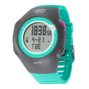 Soleus GPS Turbo - Teal/grey