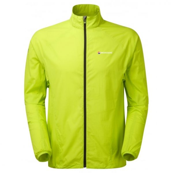 Montane Men's Featherlite Trail Jacket - Laser Green
