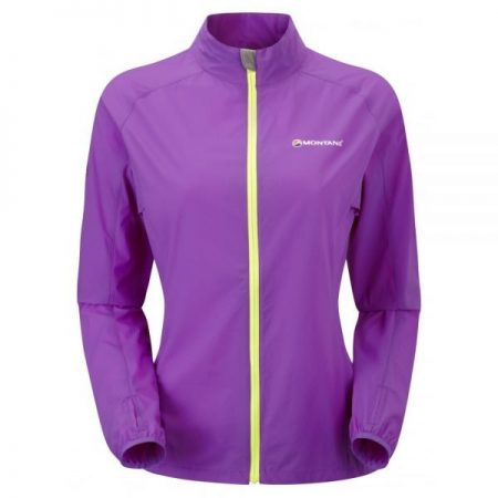 Montane Ladies Featherlite Trail Jacket - dahlia