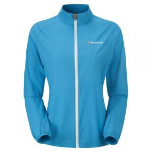 Montane Ladies Featherlite Trail Jacket - blue spark
