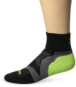 Balega Enduro Quarter Sock - black/grey/neon