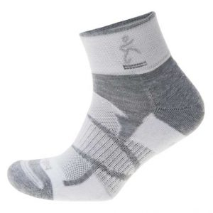 Balega Enduro Quarter Sock - white/grey