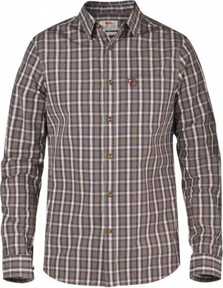 Sormland Shirt LS - Taupe