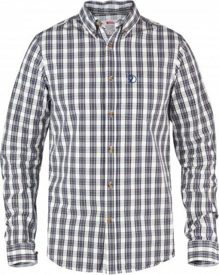 Sormland shirt LS - Blueberry
