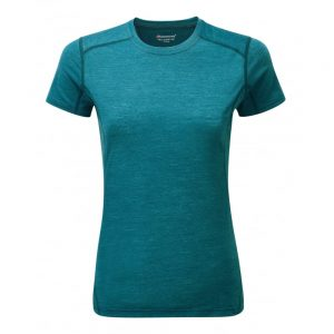 Montane Ladies Primino 140 T Shirt - Zanskar Blue