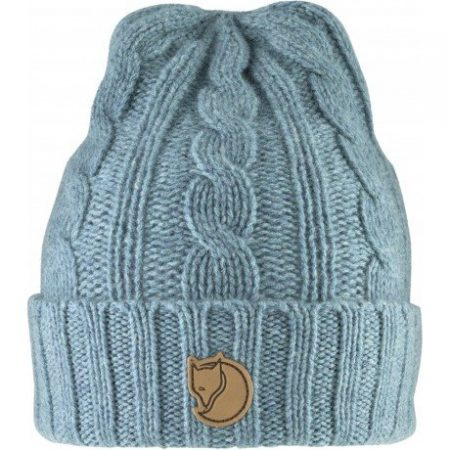 Braided Knit Hat - frost green