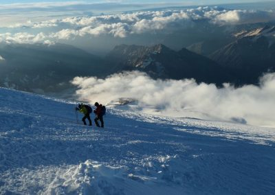 Summit night on Elbrus 2018 (2)