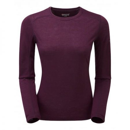 Montane Women's Primino L S T Shirt - Saskatoon berry