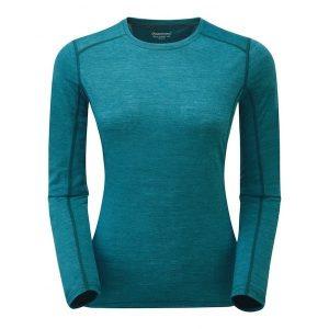 Montane Women's Primino L S T Shirt - Zanskar blue