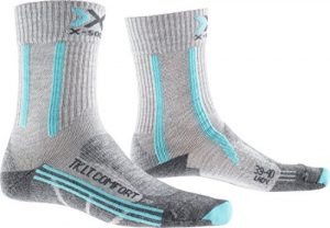 X Socks Women's Trekking Light and Comfort - Grey Blue