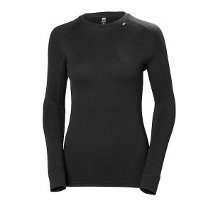 Helly Hansen Women's Merino Crew - black